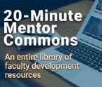 20 minute mentor commons