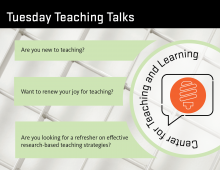 tuesday teaching talks graphic